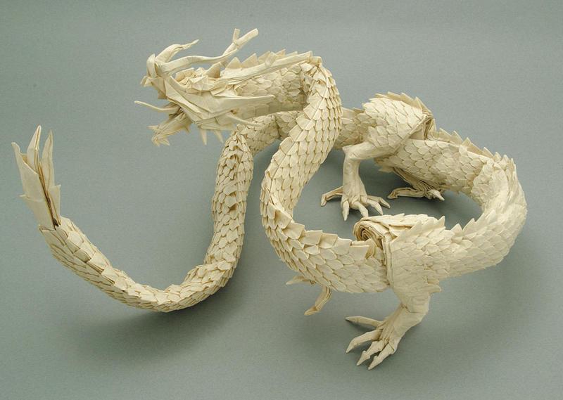 Vous voulez apprendre   224  cr  233 er une grue japonaise   224  la prison Break Origami Divine Dragon